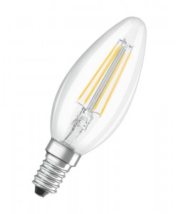 Żarówka OSRAM LED VALUE RF CLASSIC B40 4W/827 FIL E14 Warm White