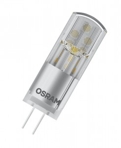 Żarówka OSRAM PARATHOM LED PIN28 G4 CL 2,4W/827 12V Warm White CLEAR